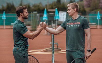 Eine Tennisschule der Zukunft